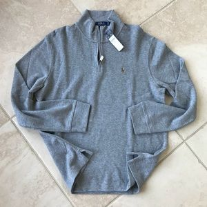 Men's polo Ralph Lauren Half Zip PONY Sweatshirt